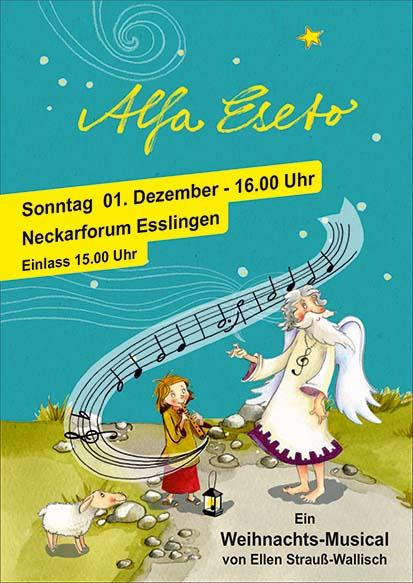 Weihnachtsmusical Alfa Eseto